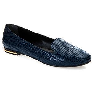 Mecrea Shoes Pree Lacivert Pullu Babet