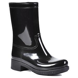 Mecrea Shoes Siyah Rubber Yağmur Çizmesi