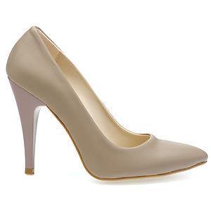 Mecrea Shoes Vizon Deri Stiletto
