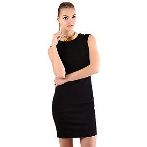 Mecrea Siyah Elegance Elbise