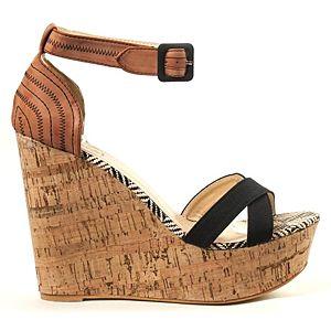 Zoopa dolgu topuklu ayakkabı