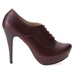 Mecrea Shoes Bordo Bootie