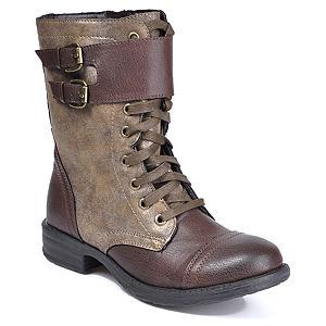 Mecrea Shoes Kahve Simli Combat Bot
