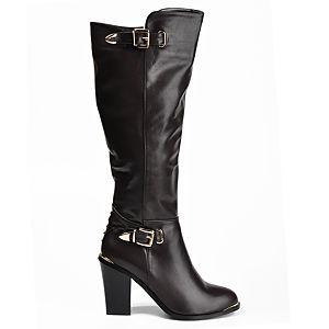 Mecrea Shoes Kahverengi Topuklu Çizme