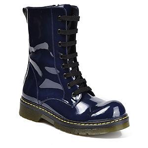 Mecrea Shoes Lacivert Militer Rugan Bot