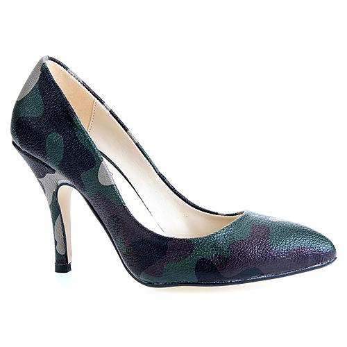 Mecrea Shoes Militer Stiletto