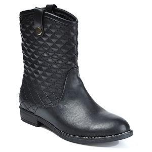 Mecrea Shoes Raider Siyah Kapitone Bot