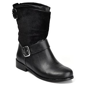 Mecrea Shoes Raider Siyah Kürk Detaylı Bot