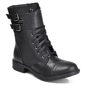 Mecrea Shoes Siyah Combat Bot
