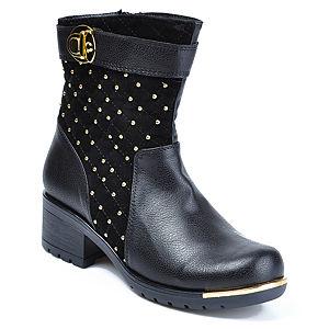 Mecrea Shoes Siyah Elegance Bootie