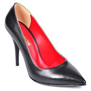 Mecrea Shoes Siyah Stiletto