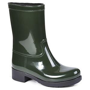Mecrea Shoes Yeşil Rubber Yağmur Çizmesi