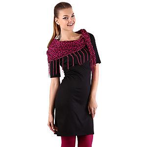 Mecrea Siyah Sırt Dekolteli Elbise
