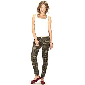 Street Fashion Kamuflaj Jean